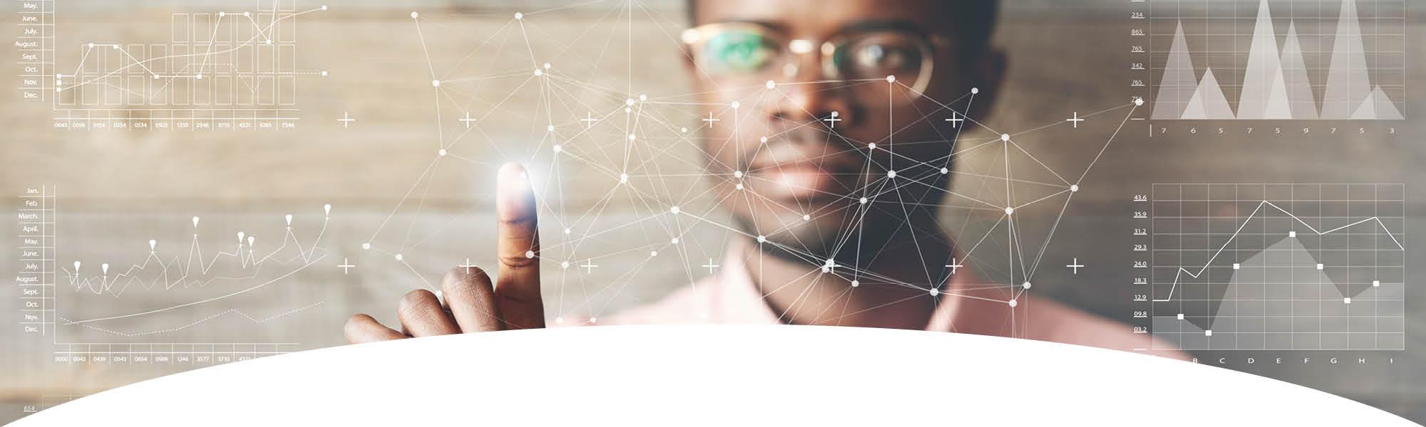 Volunteer Sign Up - Man computing data