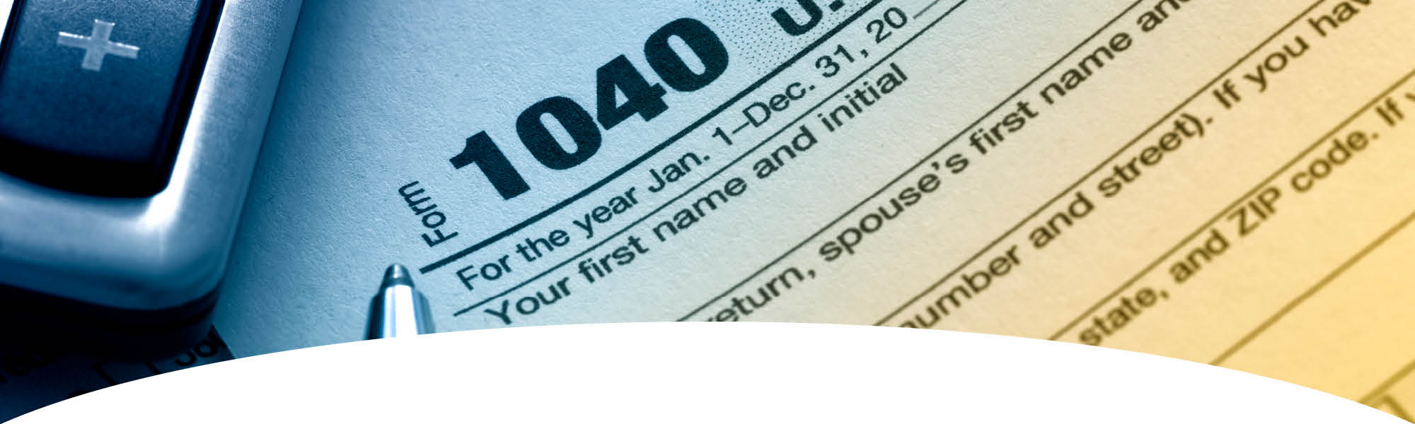Tax Preparation - 1040 Tax Form
